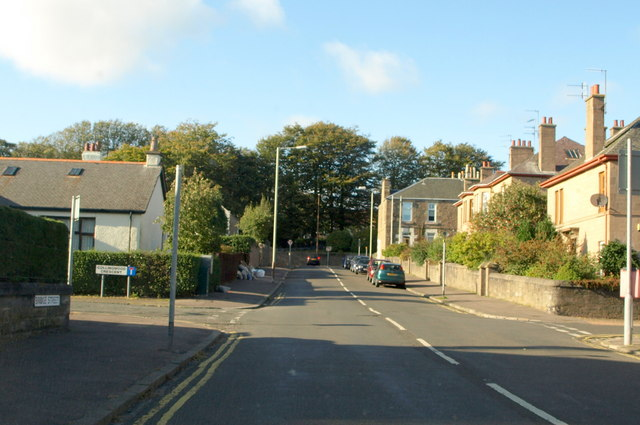 Bridge Street, Barnhill, near its junction with Collingwood Crescent