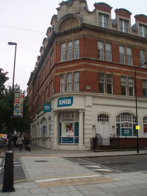 RNIB headquarters - Judd Street