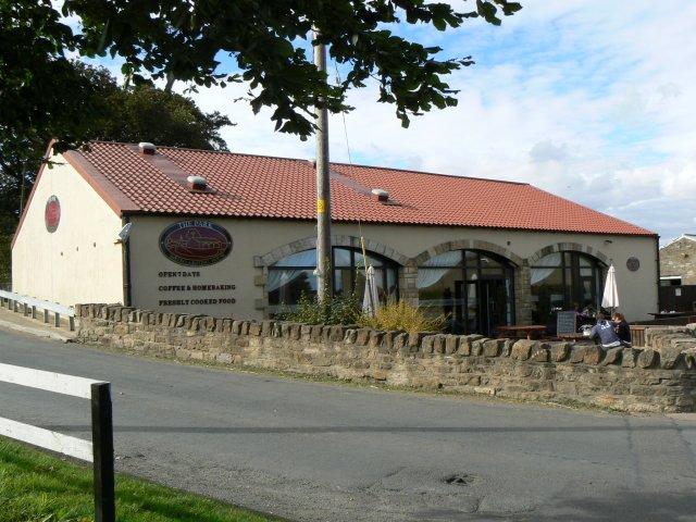 Canal coffee shop
