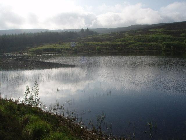 Sombre skies over Loch Brack