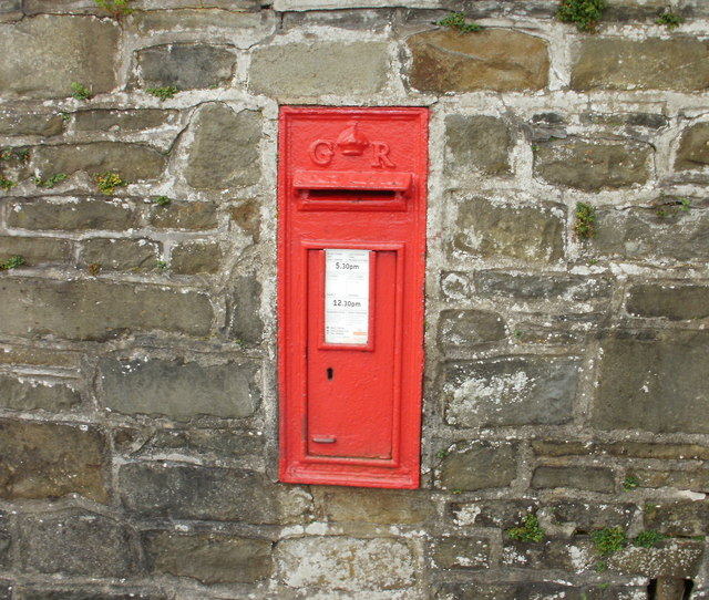 George V post box, Queen's Hill, Newport