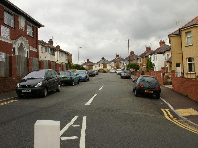 Queen's Hill Crescent, Newport
