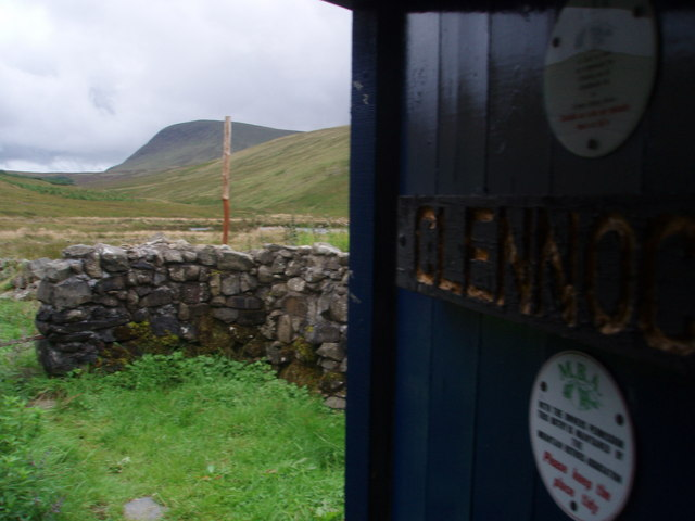 View from Clennoch Bothy