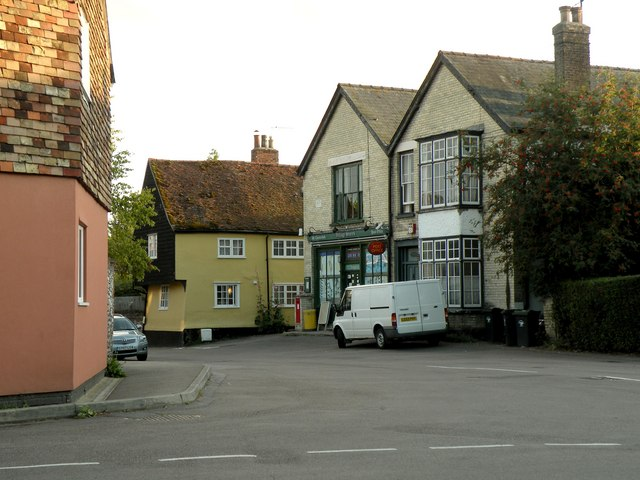 The Post Office in School Street at Great Chesterford