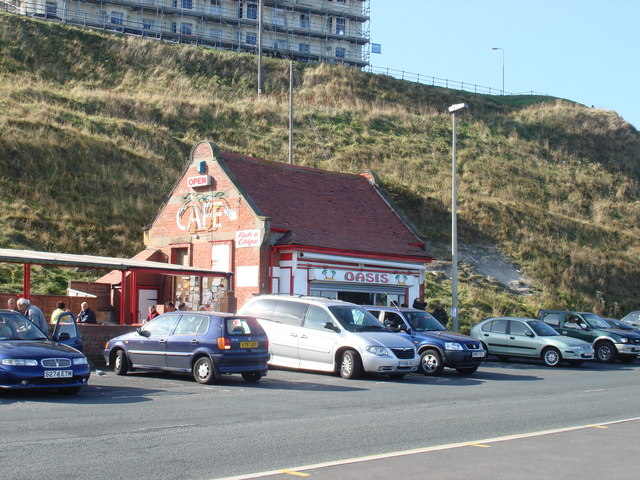 The Oasis café, North Bay Scarborough