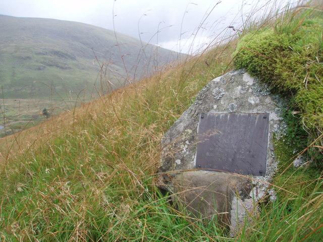 Memorial to David Hunter-Blair