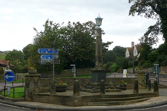 Alnmouth roundabout