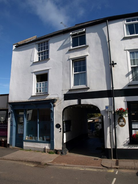Building on North Street, Wiveliscombe