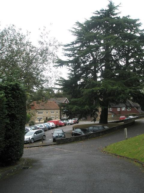 Car park for Cedar Court