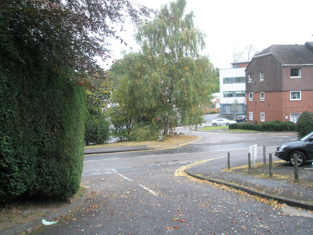 Junction of Cedar Court and Lower Street