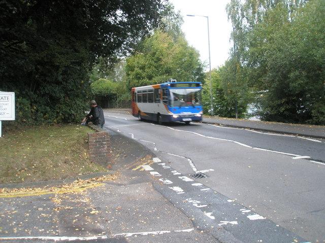 Bus in Lower Street