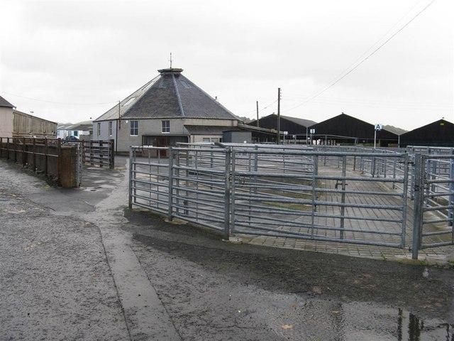 Cattle Mart, Newton St Boswells