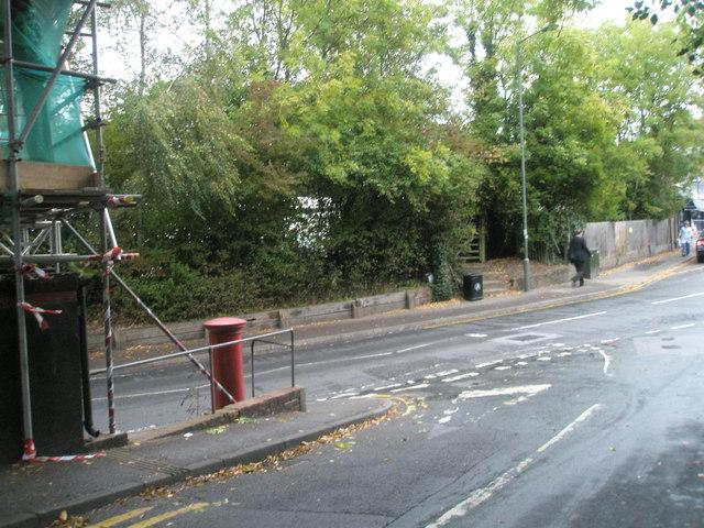 Junction of Longdene Road and Lower Street