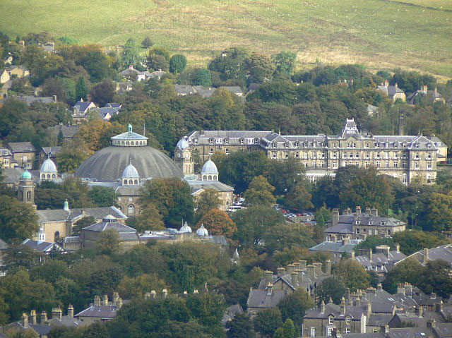 The Dome and the Palace Hotel, Buxton.