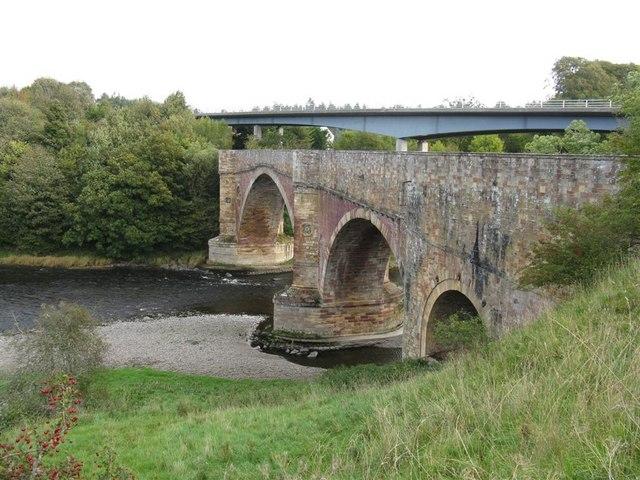 Bridges over the River Tweed