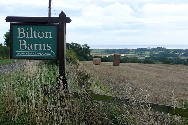 Entrance to Bilton Barns