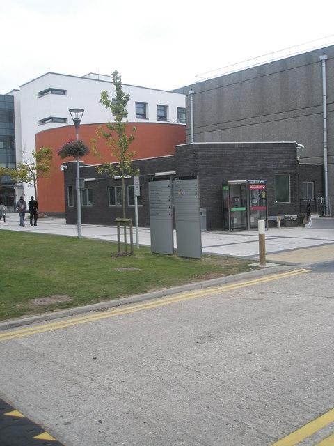 Phone box at Brunel University