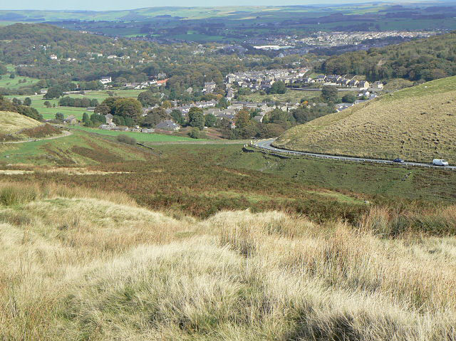 View over Burbage