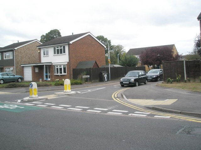 Junction of Cleveland Road and Ratcliffe Close