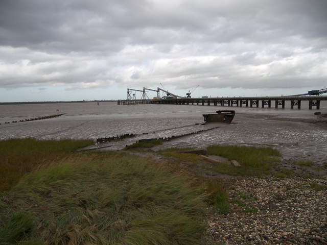 Humber Foreshore near New Holland Jetty