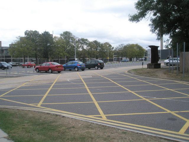 Car park at Brunel University