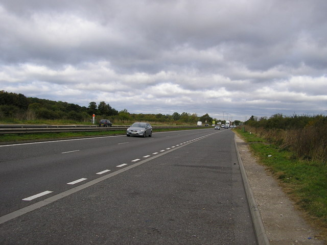 The A1 Looking North
