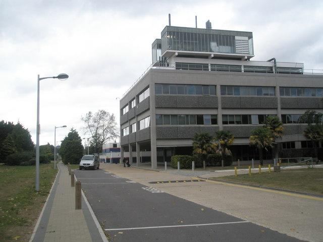 Lamppost at Brunel University