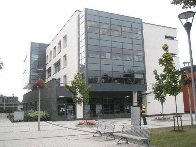 Information board at Brunel University