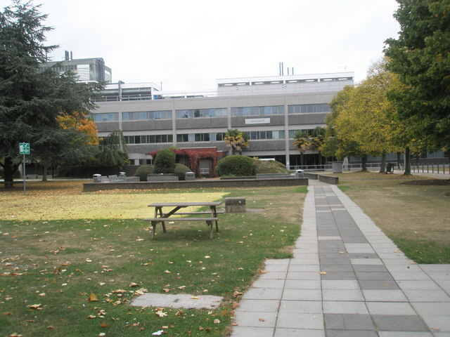 Picnic area at Brunel University
