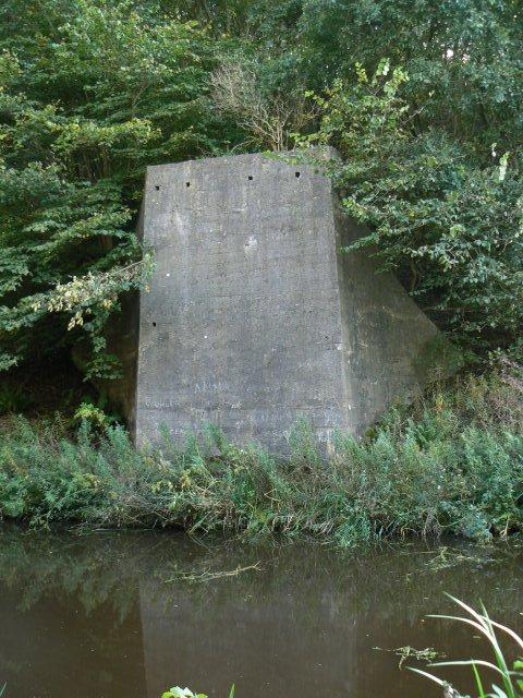 Perforated concrete