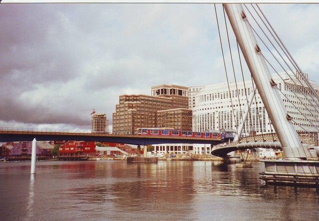 Bridges at Heron Quays, Docklands, East London