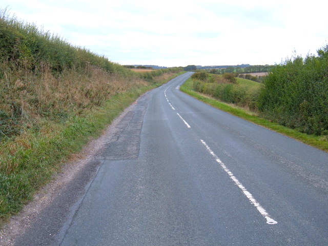 B1246 towards Pocklington