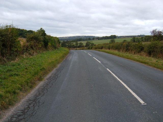 B1246 towards Pocklington