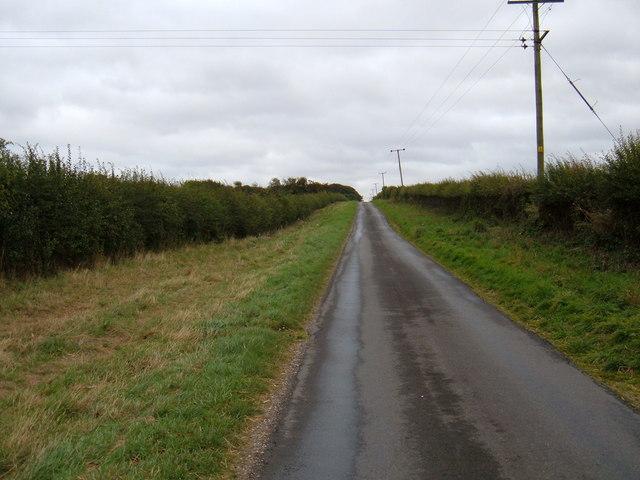 Minor Road Towards Burnby