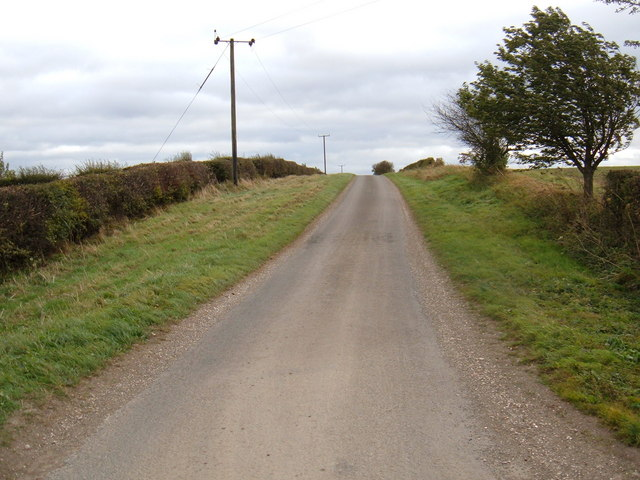 Minor Road Towards Middleton