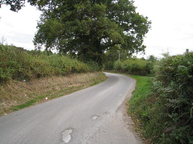 View of Ashmoor Lane