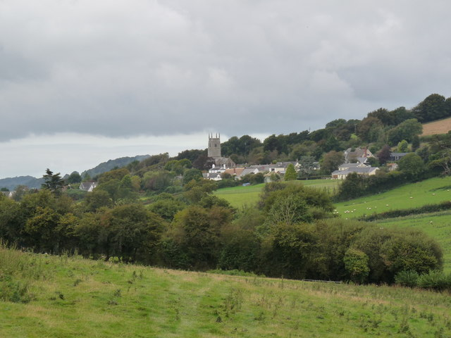 Goodleigh church and village