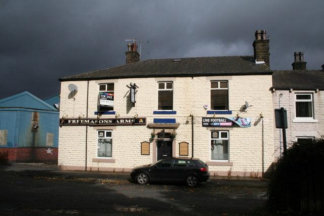 The 'Freemason's Arms' , Milnrow