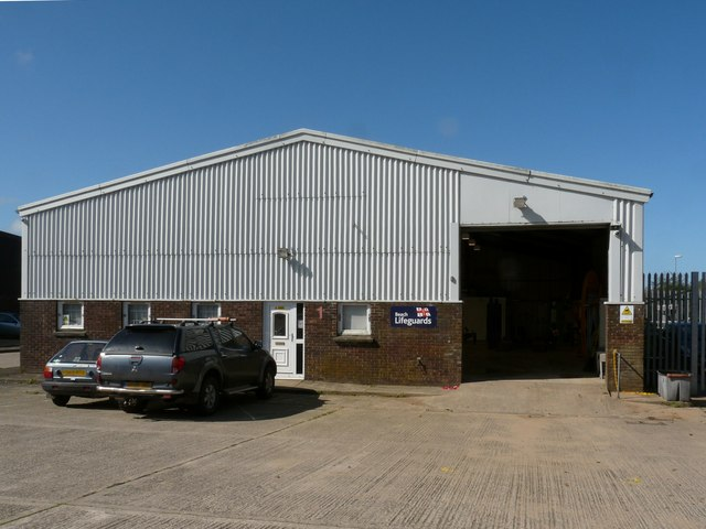 Unit 1, Mullacott Industrial Estate currently leased by the RNLI