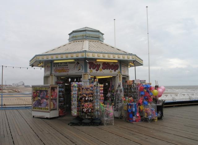 Kiosk, Blackpool Central Pier