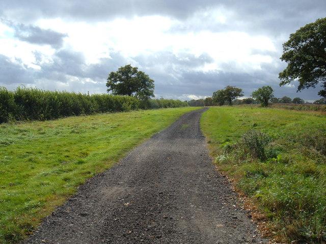 Track South of Lockington