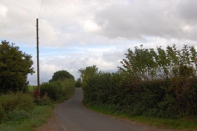 The lane to Alvington