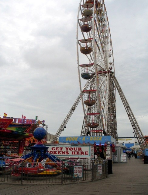 Amusements on Blackpool Central Pier