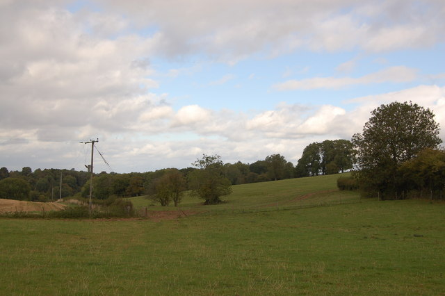 Grazing land near Hewelsfield, Gloucestershire