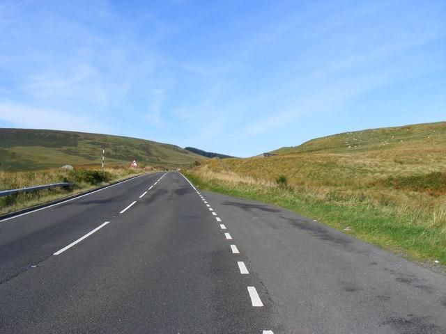 A68 looking toward Scotland