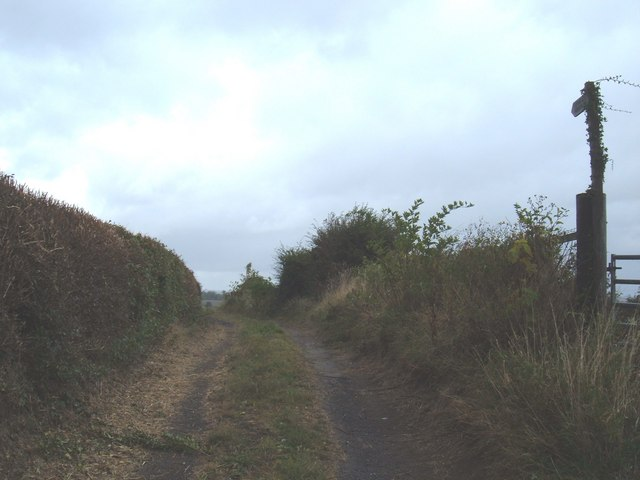 Footpath,  Holme-on-the-Wolds