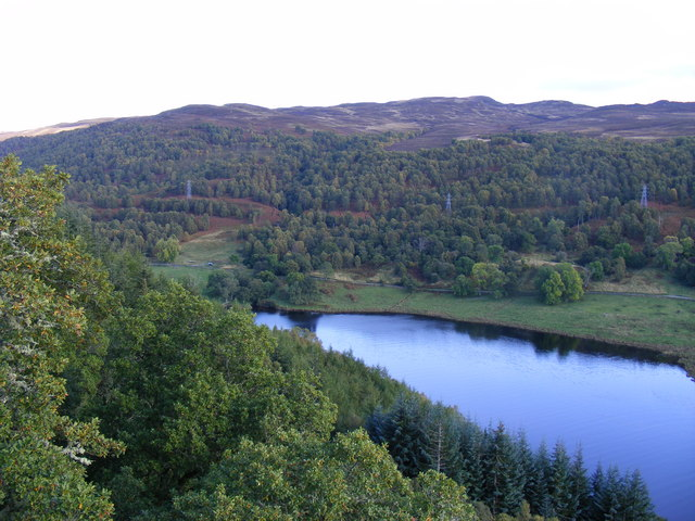 Loch Tummel view from Queens View