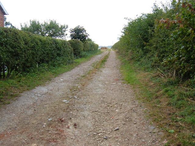 Farm Track near Kiplingcotes Farm