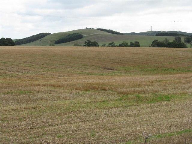 Farmland near Lilliardsedge Park