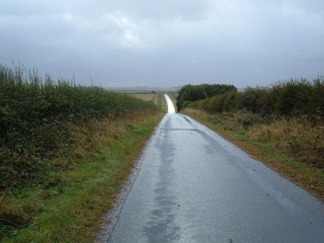 Minor Road Towards Market Weighton
